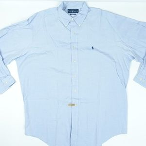 Yarmouth Light Blue Oxford Dress Shirt